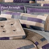 Impulse Piped Rectangle Pillow Sand