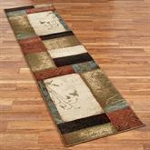 Impression Leaf Rug Runner