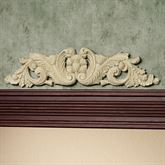 Acanthus Decorative Topper Ivory