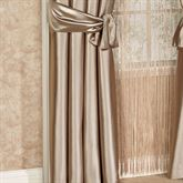 Shimmer Satin Tailored Curtain Panel