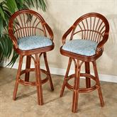 Leikela Bar Stools Malibu Seaside Bar Stool Pair