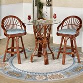 Leikela Counter Table with Two Stools Malibu Seaside Set of Three