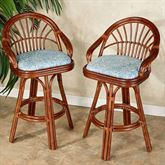 Leikela Counter Stools Malibu Seaside Counter Stool Pair