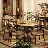 Eastbrook Dining Set of 5 Bronze Set of Five