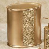 Prestigue Wastebasket Champagne Gold