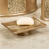 Prestigue Soap Dish Champagne Gold