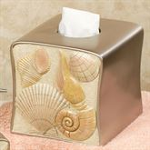 Sea Shell Tissue Cover Champagne