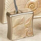 Sea Shell Toothbrush Holder Champagne