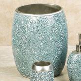 Calm Waters Wastebasket Aqua
