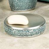 Calm Waters Soap Dish Aqua