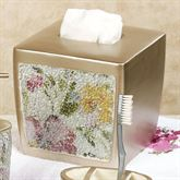 Watercolor Floral Tissue Cover Champagne