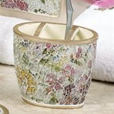 Watercolor Floral Toothbrush Holder Champagne