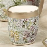 Watercolor Floral Tumbler Champagne