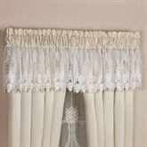 Trousseau Lace Tailored Valance