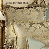 Duchess Tasseled Sham Seafoam European