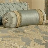 Duchess Tufted Pillow Seafoam Neckroll