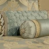 Duchess Tasseled Tailored Pillow Seafoam Rectangle