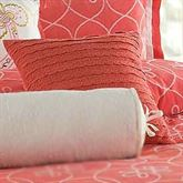 Ariana Tailored Square Pillow Coral 16 Square