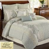 Davenport Scroll Comforter Set Ivory