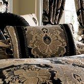 Bradshaw Black Tailored Pillow Rectangle