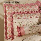 Coras Garden European Sham Ivory European