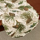 Walk in the Woods Table Runner Multi Earth
