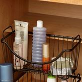 Paxton Small Stacking Basket Bronze
