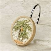 Colony Palm Shower Hooks Ivory Set of Twelve