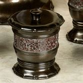 Prescott Covered Jar Oil Rubbed Bronze