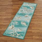 Hidden Treasures Rug Runner Teal 2 x 76