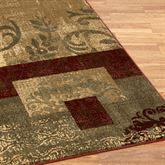 Madox Rug Runner Multi Jewel 110 x 76