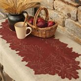 Falling Leaves Lace Table Runner 14 x 36