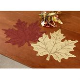 Falling Leaves Maple Lace Placemats Set of Four