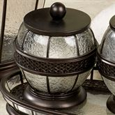 Ice Cotton Jar Oil Rubbed Bronze