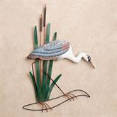 Blue Heron Head Down Wall Art Multi Cool