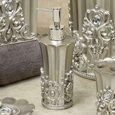 Fatima Lotion Soap Dispenser Pewter