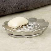 Fatima Soap Dish Pewter