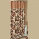 Key West Tropical Shower Curtain Multi Warm 72 x 72