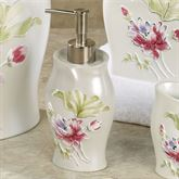 Floral Haven Lotion Soap Dispenser Ivory