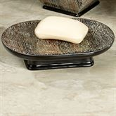Borneo Soap Dish Black/Tan
