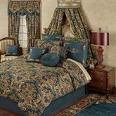 Casanova Comforter Set Dark Teal