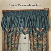 Casanova Ascot Valance Dark Teal 40 x 21