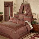 Eastleigh Comforter Set Ruby