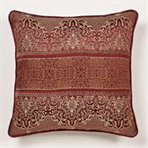 Eastleigh Filigree Piped Pillow Ruby 20 Square