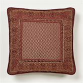 Eastleigh Framed Piped Pillow Ruby 18 Square