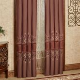 Eastleigh Wide Tailored Curtain Pair Ruby