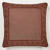 Eastleigh European Pillow with Sham Ruby