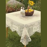 Antique Lace Square Tablecloth 58 x 58