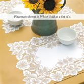 Antique Lace Placemats Set of Four