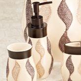 Shimmer Lotion Soap Dispenser Tan